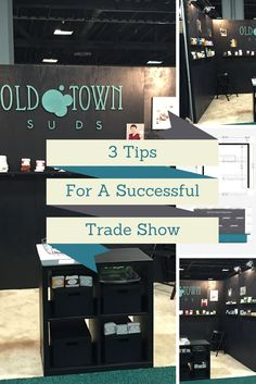 3 tios for a successful trade show