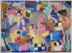 Iliodora Margellos, Fovea, Acrylics on paper, 127x167cm
