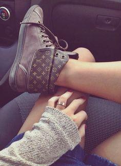 LV boots fashion
