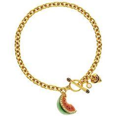 Juicy Couture Watermelon Bracelet