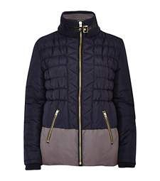 Navy colour block padded jacket £55.00