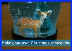 Snowglobe - Christmas Crafts - Make Your Own