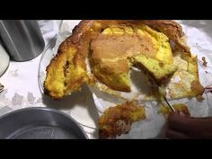 Receita pão de Ló de Ovar(Portugal)-Delicia cremosa eheheh---By Niini Beauty - YouTube