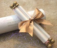 Princess Scroll Invitation by PapercutInvites on Etsy - Princess Scroll Invitation by PapercutInvites on Etsy - Scroll Invitation, Invitation Cards, Scroll Wedding Invitations, Quince Invitations, Party Invitations, Print Invitations, Modern Invitations, Invites, Wedding Cards