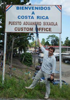 """Después de unas semanas por el mismo sitio no hay nada mejor que """"cambiar de aires"""" ir visitar un otro país cercano. Costa Rica."""