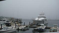 #Marina in #Newport RI. #Mystical hazy day. #boating #water #Newport #summer #fun #yachts #marina