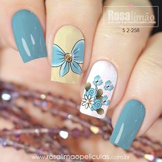 Latest Nail Designs, Colorful Nail Designs, Acrylic Nail Designs, Cute Nail Art, Cute Nails, Pretty Nails, Fancy Nails, Bling Nails, Magic Nails