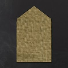 Burlap - Outer Envelope Liner - Imperial | KSW Exclusive Invitations