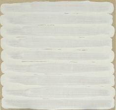 "1965. Enamel on bristol board, 7 3/4 x 8 1/8"" (19.7 x 20.6 cm). Gift of the artist. © 2012 Robert Ryman"