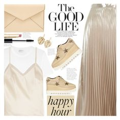 """happy hour"" by jade-714 ❤ liked on Polyvore featuring Yves Saint Laurent, Halfpenny London, River Island, Rebecca Minkoff, STELLA McCARTNEY, Christian Dior, Stila, The Sak, ADAM and happyhour"
