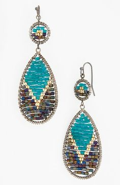 Nakamol Design Beaded Earrings available at #Nordstrom