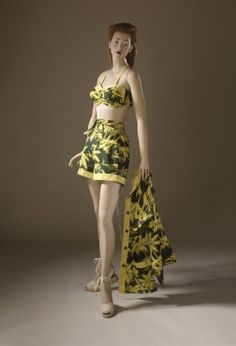 Bathing Ensemble ~ late 1940s ~ LACMA