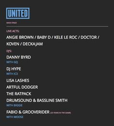 United Festival 2014 United Festival d7cdf8a97565