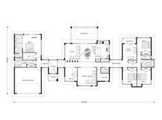 Rochedale 320, Our Designs, Queensland Builder, GJ Gardner Homes Queensland Possible floorplan starting point for acreage home