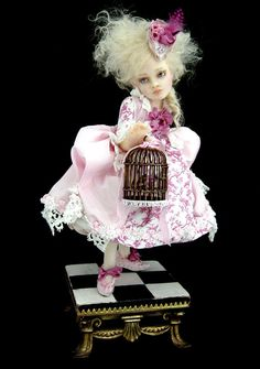 New piece for the week of 12/8/09. (Can't believe I almost forgot to post her here!) One of a kind polymer clay sculpture by Nicole West. Anyone who knows me knows I'm an Alice fanatic. I...