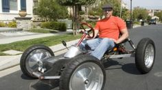 The Z-Kart is a home-built electric go-cart that features impressive performance and engineering.