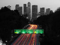 LA traffic headed into downtown. #LosAngeles