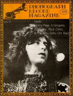 Jimmy Page, Feb. 1971 issue #gettheledout