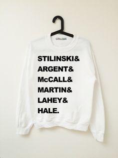 Teen Wolf Sweatshirts — Kollage                                                                                                                                                                                 Mais