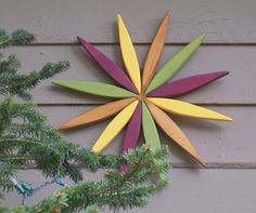 For your outdoor and indoor decorating this year consider my colorful wooden…