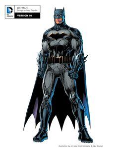 DC REVELA LOS NUEVOS DISEÑOS DE SUPERMAN, BATMAN, WONDER WOMAN Y MAS