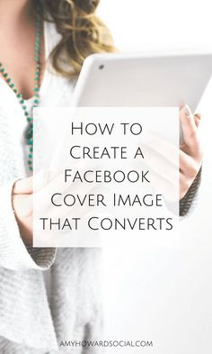 Need your Facebook cover image to convert into sales and new subscribers? Follow these steps on How to Create a Facebook Cover Image that Converts. How To Use Facebook, Free Facebook, Facebook Business, Online Business, Facebook Marketing Strategy, Marketing Ideas, Social Media Marketing, Content Marketing, Online Marketing