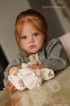 Волшебной красоты девочка реборн Mattia от Анны Арутюнян / Куклы Реборн: изготовление своими руками, фото, мастера / Бэйбики. Куклы фото. Одежда для кукол Reborn Toddler Dolls, Child Doll, Reborn Dolls, Reborn Babies, Kit Reborn, Baby Doll Strollers, Pretty Baby, Little Sisters, Girl Outfits