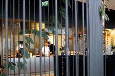 Wnętrze restauracji Concept 13 w warszawskim centrum handlowym Vitkac
