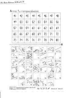 Matemáticas para primer grado: Refuerzo 1 | First Grade | Pinterest ...