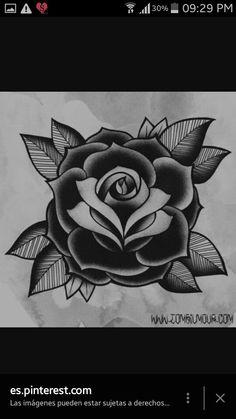 2017 Trend Tattoo Trends - Traditional old school rose tattoo Source by anavarroromo Rosa Old School, Old School Rose, Girly Tattoos, Trendy Tattoos, Flower Tattoos, Tattoo Roses, Rose Tattoo On Hand, Forearm Tattoos, Geometric Tattoos