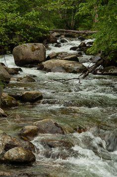 Bicaz waterfalls