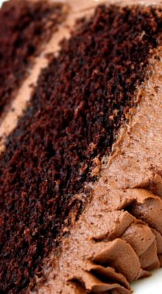 Classic Chocolate Cake (Scratch Cake.
