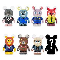 Vinylmation Zootopia Series Figure - 3'' | Disney Store