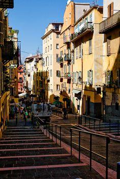 Rue Rossetti, vieux Nice