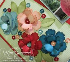 blossom punch 3d flower tutorial by Kim Gavarra. Very clever