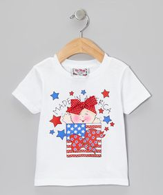 Take a look at this White 'Made In America' Tee - Infant by I'm Yours on #zulily today!