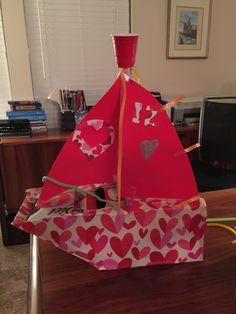 Sailboat Valentine Mailbox