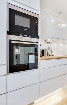 52 Super Ideas For Kitchen White Ikea Kitchen Interior, Interior Design Living Room, Kitchen Decor, Kitchen Living, New Kitchen, White Ikea Kitchen, Cocinas Kitchen, Küchen Design, Design Ideas
