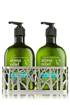 """Any thing """"Eucalyptus Spearmint - Stress Relief""""     http://www.bathandbodyworks.com"""