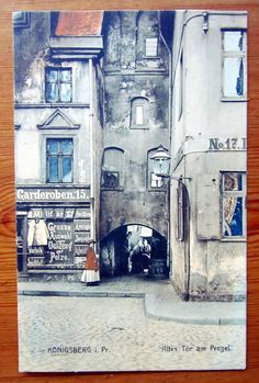 schöne AK Königsberg, Altes Tor am Pregel, 1909