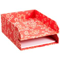 Bigso™ Blossom Stacking Letter Tray