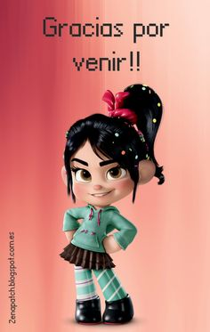 Cute Disney Wallpaper, Cute Cartoon Wallpapers, Disney Fan Art, Disney Pixar, Baby Princess, Disney Princess, Frozen Poster, Vanellope Y Ralph, Vanellope Von Schweetz