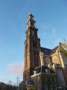 Clock tower #amsterdam #holland Amsterdam, Holland.