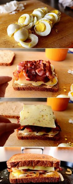Ultimate Grilled Cheese Sandwich. This whole site is an awesome source for quick meals.