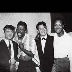 Gene Vincent, Little Richard, Jet Harris, & Sam Cooke