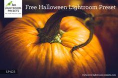 Free Lightroom Preset | Spice - A Halloween Delight – Love Lightroom Presets