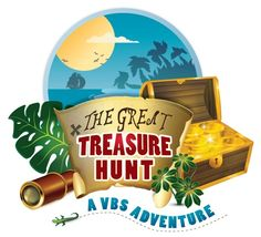 "Do-it-Yourself VBS Program: ""The Great Treasure Hunt"" Vbs Themes, School Themes, Bible School Crafts, Bible Crafts, Holiday Club, Family Fun Day, Bible Activities, Kids Church, Church Ideas"