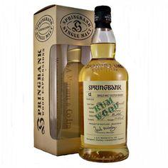 Springbank Wood Expressions range of whiskies. 12 year old Rum Wood Single Malt Whisky Distilled :1989 Bottled : April 2002 5700 Bottles