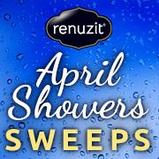 """""""April Showers…bring your chance to WIN!"""" I entered to win. Enter today for a chance to win a year's supply of our water-inspired and rain-touched scents!"""