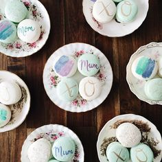 Mother's Day Macarons | Sweet and Saucy Shop